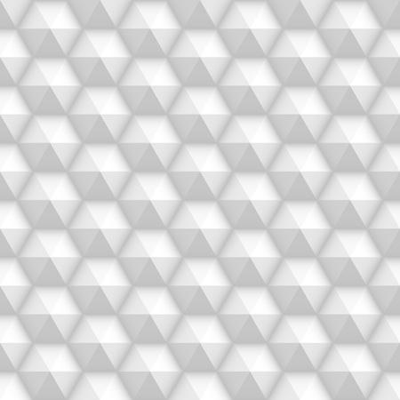 white tile: White seamless volumed honeycomb textured tile pattern Illustration