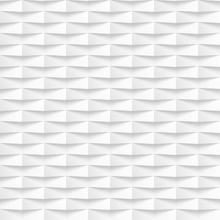벡터 흰색 원활한 타일 질감 된 패널 배경