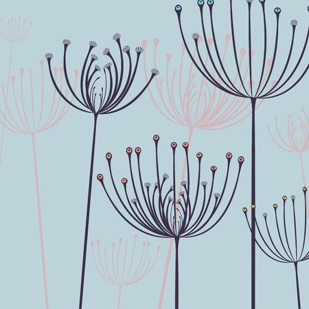 motif floral: Abstract floral pattern. Fleur conception empreinte de fond.