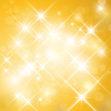 glinsterende sterren schitteren met lesflare effect