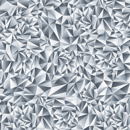 crystal background: Blue abstract crystal fractals texture background Illustration