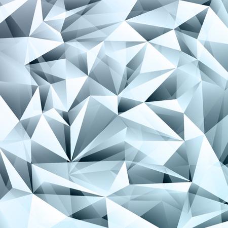 質地: 抽象藍色水晶分形紋理背景