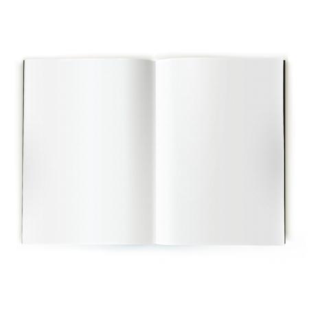 hoja en blanco: Abrir cat�logo revista blanca doble p�gina