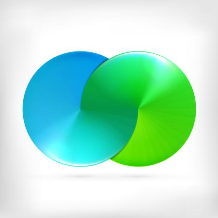 signo de infinito: Forma Infinity ronda icono del c�rculo dimensional. Estilo Lollipop.