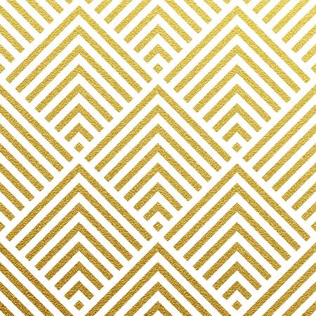 Geometric gold glittering seamless pattern on black background.  イラスト・ベクター素材