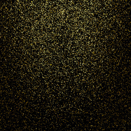 lucero: Vector de oro brillo resplandeciente espacio polvo de estrellas de fondo