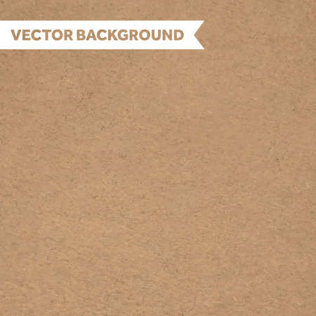 Carton cardboard textured paper background Ilustracja