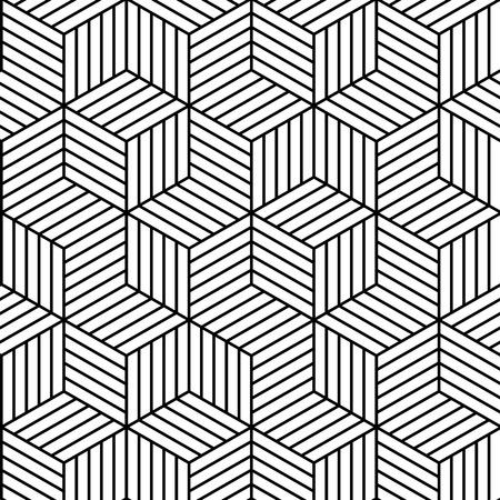 벡터 흰색 배경 - 원활한 질감 그래픽 또는 웹 사이트 템플릿 레이아웃, 인테리어 벽 장식입니다. 3D 벡터 내부 벽 패널 패턴입니다. 기하학적 선형 입방