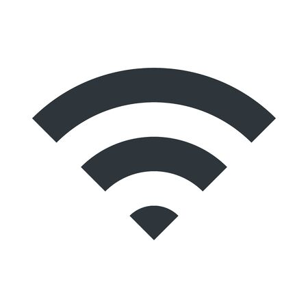 signals: WIFI icon for signal connection symbol. Vector Illustration design.