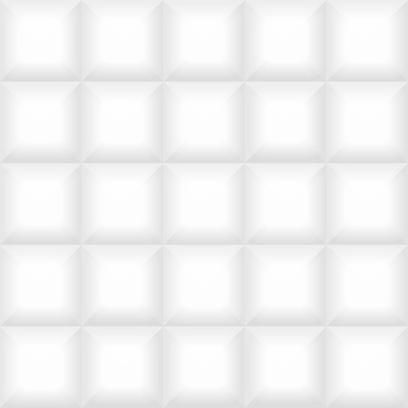 white wall: white tile pattern panel background. Seamless geometric twisted design. 3D texture interior wall panel for graphic or website template layout.
