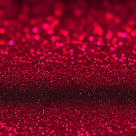 ruby red: Ruby red glitter sparkles. Textured christmas sequins background. Fashion glamour ruby glittering wallpaper Stock Photo