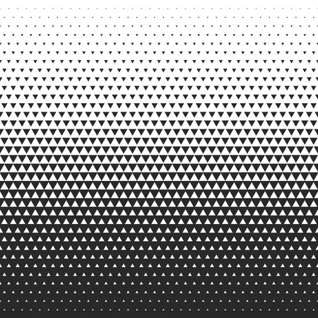 Fade gradient pattern. Vector gradient seamless background. Gradient halftone texture.  イラスト・ベクター素材