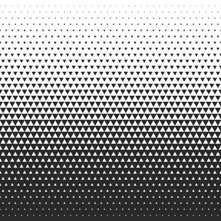 Fade gradiëntpatroon. Vector gradiënt naadloze achtergrond. Gradiënt halftone textuur.