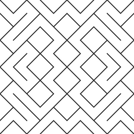 nodes: Vector seamless pattern background. Modern stylish repeating geometric texture with rhombus and nodes tile pattern.