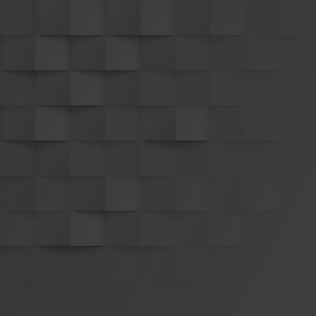 texture twisted: Vector black intertwined tile pattern background. Seamless geometric twisted interwoven design. 3D texture interior wall panel for graphic or website template