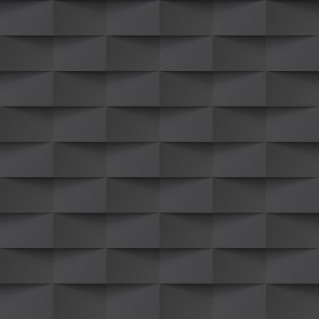 ベクトル黒タイル パターン背景に絡み合っています。シームレスな幾何学的なツイストの織りデザイン。グラフィックやウェブサイトのテンプレー