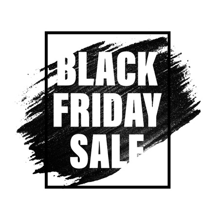 cut off: Black Friday Sale banner stamp. Vector online shop promo poster. Black Friday discount percent, price cut off promo gift card