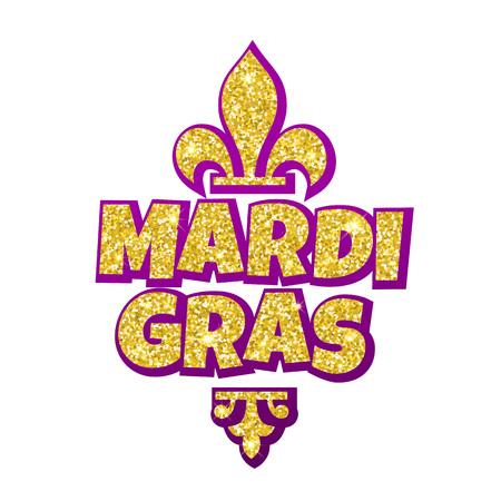 Fleur de lis lily mardi gras gold glitter masquerade carnival fleur de lis lily mardi gras gold glitter masquerade carnival lettering australian traditional m4hsunfo