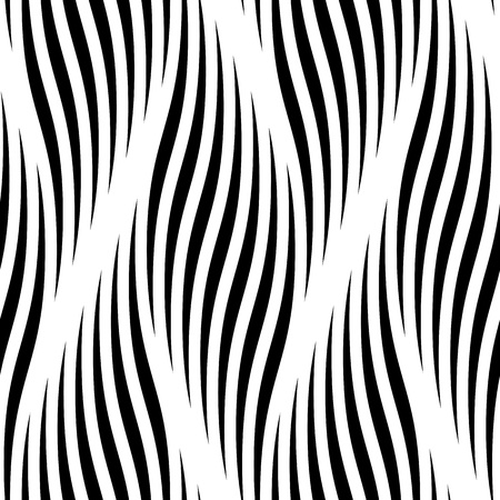 braided: Seamless pattern with waves. Ripple vector background. Abstract braided curve lines. Vector braid curl twisted waves, wavy ripples. Interweaving smooth zigzag textile tracery wallpaper, wrapping paper