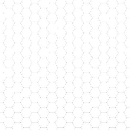 hexagonal pattern: Hexagonal structure mesh net background. Abstract geometric hexagon shape cells polygonal pattern. Honeycomb wallpaper