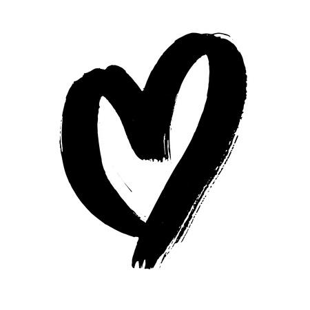 day saint valentin: Vector hand drawn Valentine heart