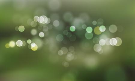 gleam: Light blurs or defocused lights spots and lens flare effect for vector background Illustration