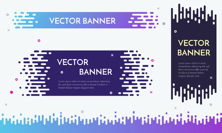 glitch: Modern banner design with flow liquid texture for presentation, web site, poster. Halftone Transition Abstract Wallpaper Pattern