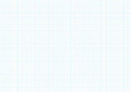 Fondo del papel del gráfico con el vector azul que traza la textura de la rejilla de la guía de la línea de la regla milímetro para la ingeniería o la disposición de dibujo mecánica. Cuaderno a cuadros A4, fondo del cuaderno Foto de archivo - 89173990