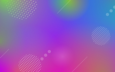 Geometric abstract background with dynamic circle shapes and minimal color gradient or graphic effect elements