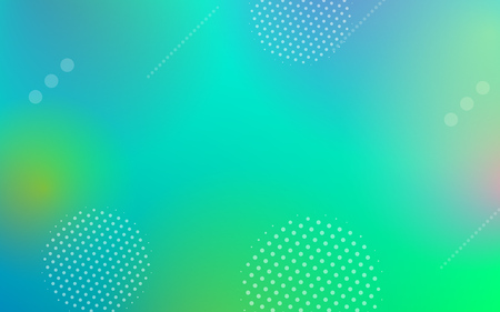 Abstract color gradient background with geometric elements in modern dynamic shapes in minimal or digital futuristic style Ilustracja