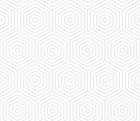 Abstract geometric pattern of hexagon grid.