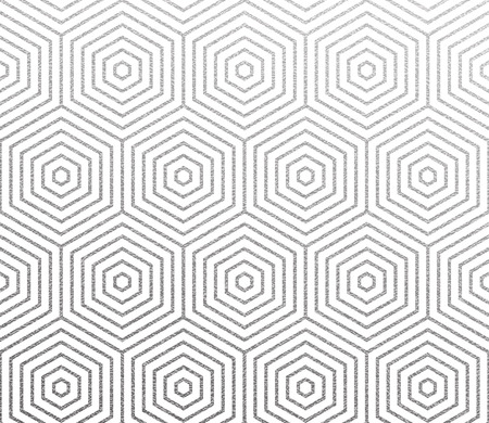 Geometric abstract linear honeycomb hexagon pattern.