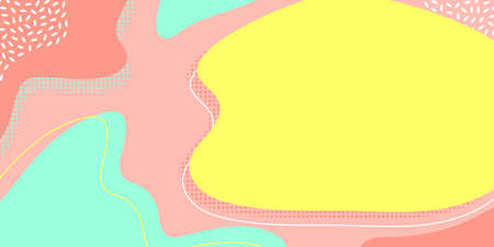 Background pattern abstract color, presentation copy space and text template, vector 向量圖像