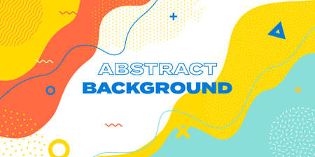 Abstract background with wave patter, vector creative texture. Color waves and lines template for presentation design 向量圖像