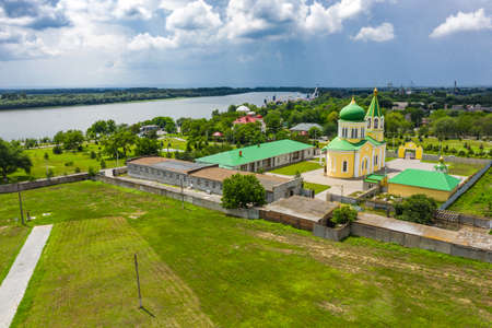 St. Nicholas Church on the Danube Embankment in Izmail