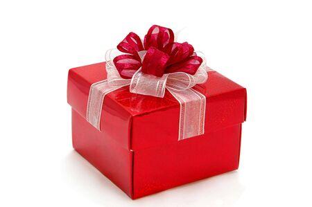 Red gift box Stock Photo - 277795