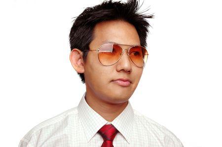 Corporate male with sun glasses Stock Photo - 286553