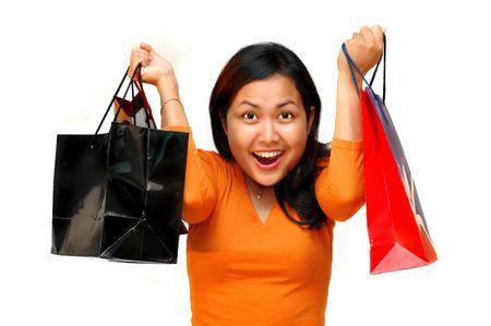 Crazy shopping Stock Photo - 290113