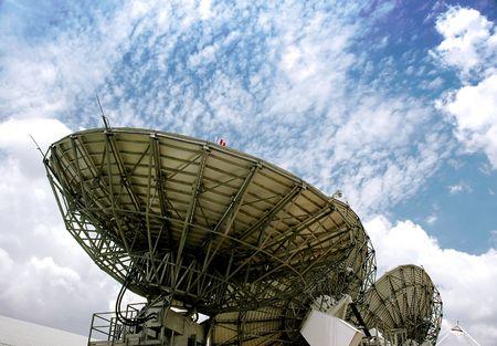 satelite: Sat�lite  Foto de archivo
