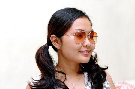 Retro girl Stock Photo - 296148