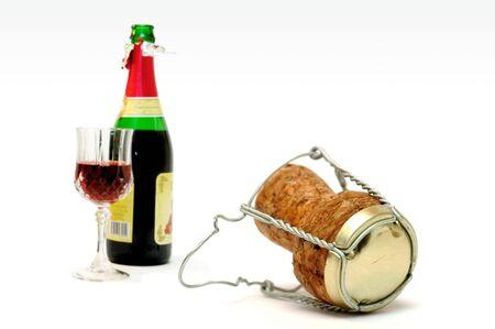 inebriated: Champagne