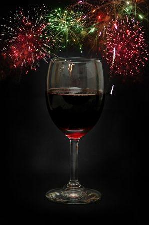 Happy new year celebration photo