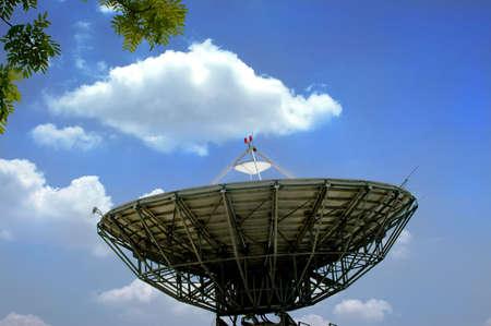 satelite: Satelite dish Stock Photo