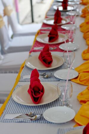 mesa para banquetes: Banquete - cuadro