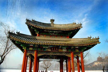 Summer Palace in Beijing - Winter season Stock Photo - 311458