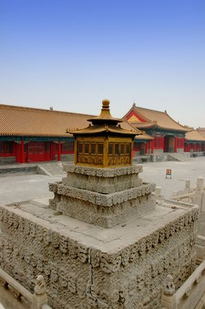 the stupa: Stupa - Forbidden city, Beijing