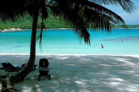 Family vacation - Beach Stock Photo - 374315