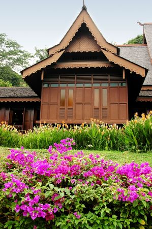 traditional house: Malays traditional house style