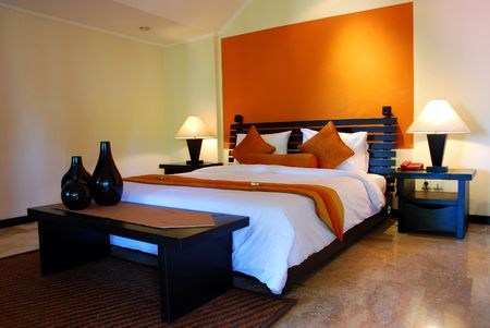 Bed room interior photo