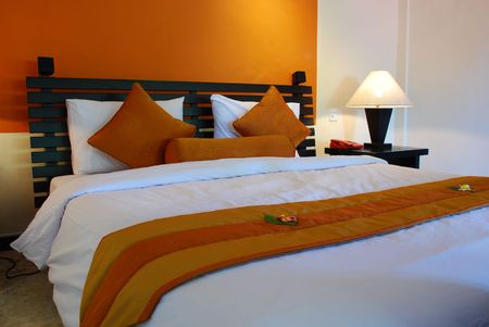 Bed room interior Stock Photo - 635908